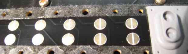 Limpieza contactos teclas de EDIROL PCR